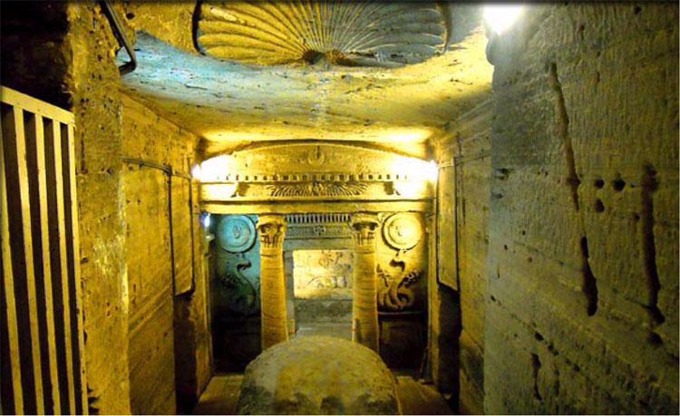 Khu hầm mộ được phát hiện, mở cánh cửa khám phá lịch sử cổ đại cho thế giới.