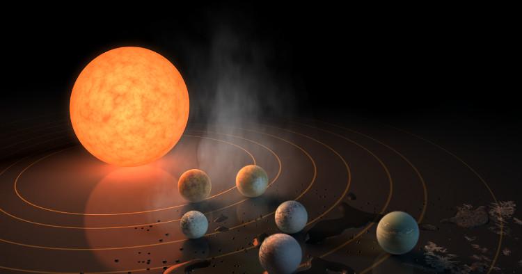 Hệ sao-hành tinh Trappist-1.