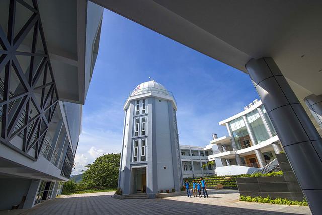Đài thiên văn Nha Trang được xây dựng tại tọa độ có khả năng quan sát thiên văn tốt nhất VN