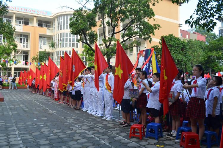 Lễ khai giảng năm học mới ở Việt Nam.