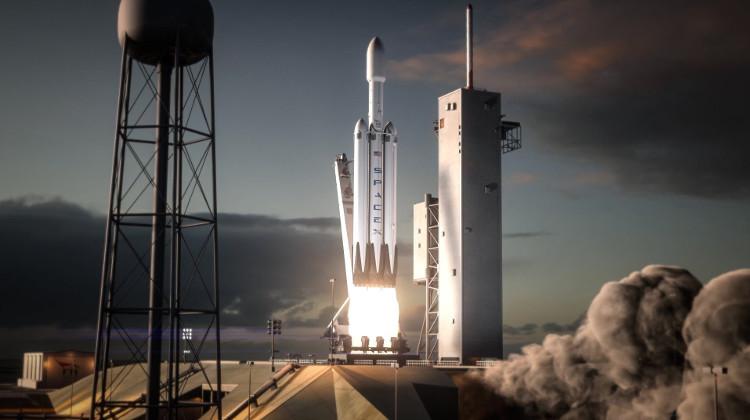 Tên lửa mạnh nhất thế giới Falcon Heavy của SpaceX