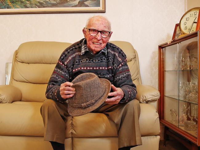 Bert ở tuổi 101.
