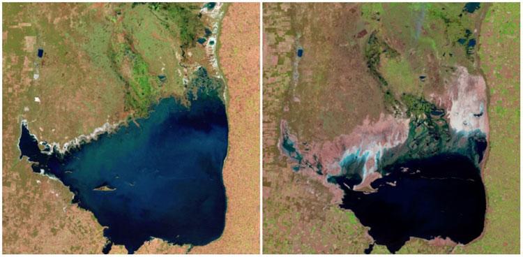 Hồ Mar Chiquita, Argentina