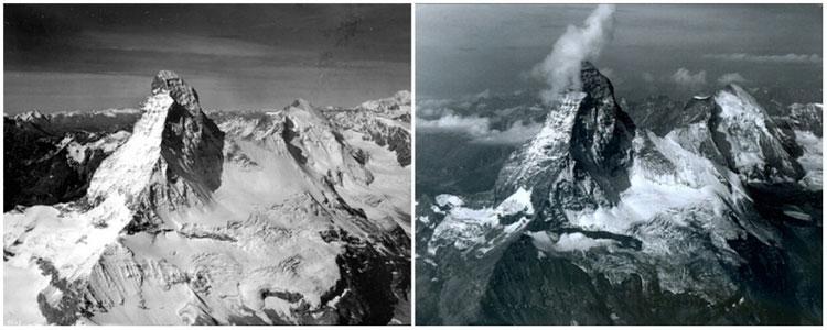 Núi Matterhorn thuộc dãy Alps