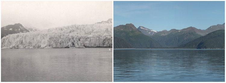 Sông băng McCarty Glacier, Alaska