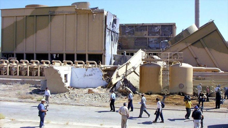 Resultado de imagen para iraqi nuclear reactor