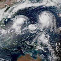Hiện tượng xảy ra trong cuộc đụng độ của hai cơn bão