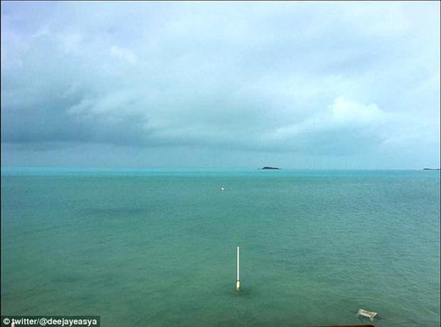 Vùng biển đã trở lại bình thường sau 13 giờ
