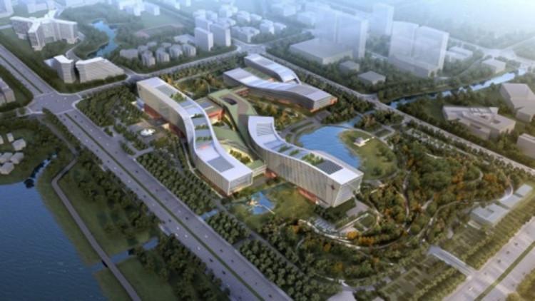 Phối cảnh cơ sở nghiên cứu lượng tử lớn nhất thế giới của Trung Quốc.