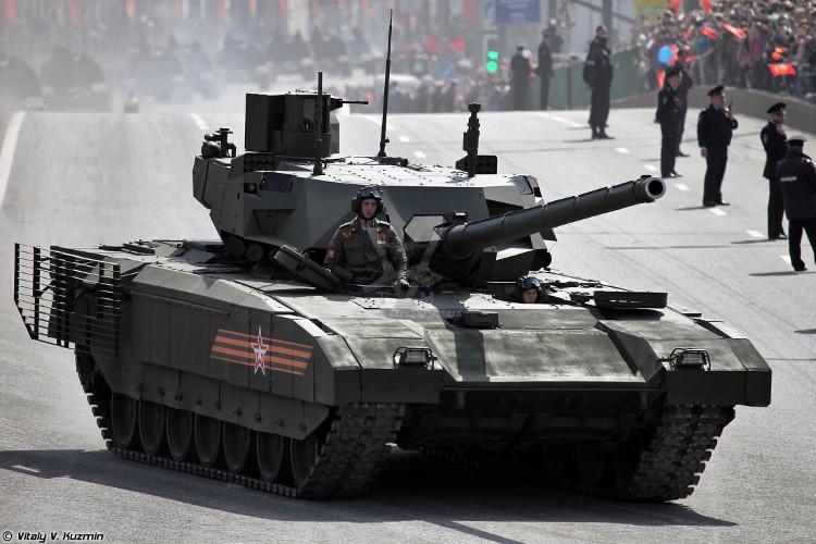 Nga dự kiến sẽ đưa T-14 Armata vào biên chế quân đội sau năm 2019.