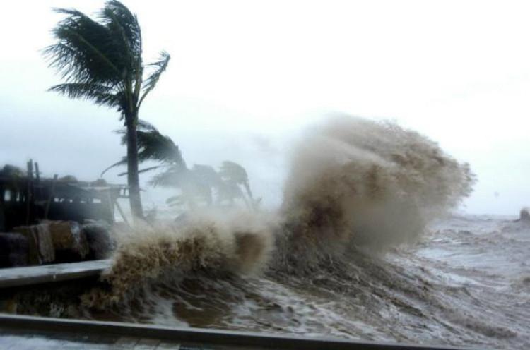 Sức tàn phá khủng khiếp của bão Conson.