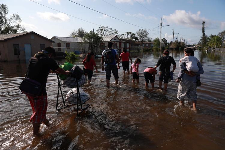 Jacksonville và Florida Keys là 2 khu vực bị tàn phá nghiêm trọng nhất