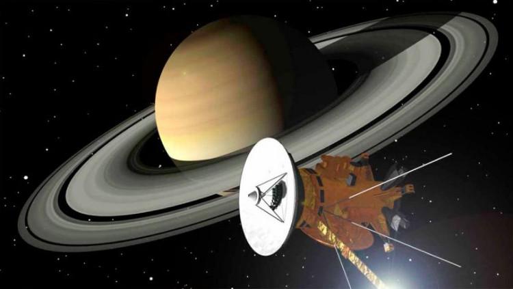 Tàu Cassini mang sứ mệnh khám phá sao Thổ suốt 13 năm qua.