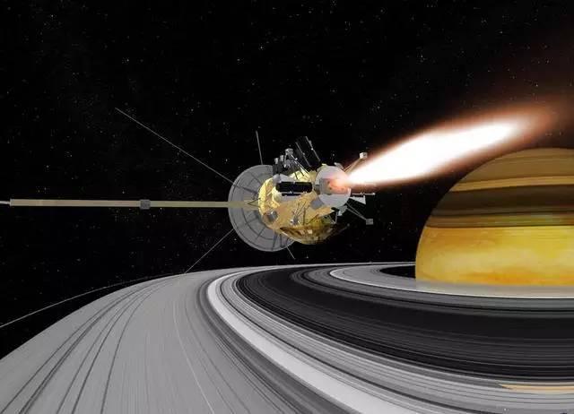 Tàu vũ trụ Cassini sẽ tự sát trên sao Thổ vào ngày 15/9.