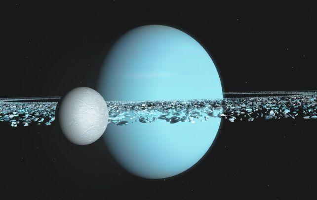 Hai mặt trăng Cressida và Desdemona của sao Thiên Vương có thể sẽ va chạm với nhau trong 1 triệu năm tới.
