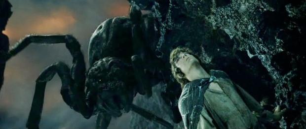 """Nhện khổng lồ Shelob trong loạt phim kinh điển """"Chúa tể của những chiếc nhẫn""""."""