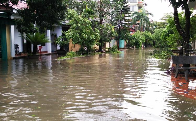 Bão, lũ lụt gây thiệt hại nặng nề về người và của.