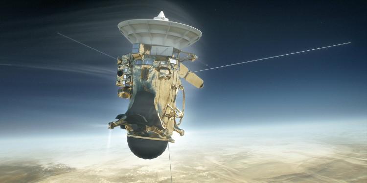Tàu thăm dò Cassini sẽ bốc cháy trên không gian của sao Thổ.