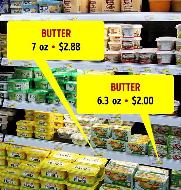 Không quan tâm đến trọng lượng sản phẩm mà chỉ nhìn giá
