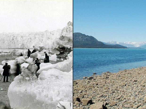 Trái đất đã thay đổi rất nhiều vì biến đổi khí hậu.