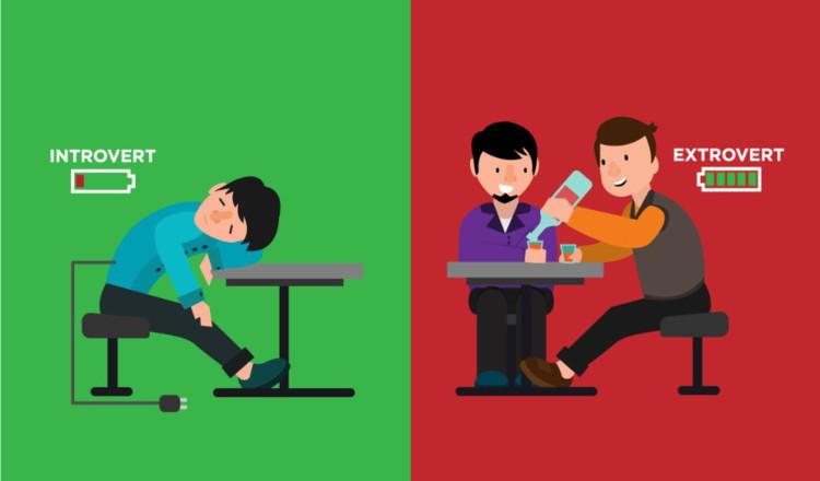 Nhiều người lầm tưởng chỉ giao tiếp mới quyết định xem ai là hướng nội, ai là hướng ngoại.