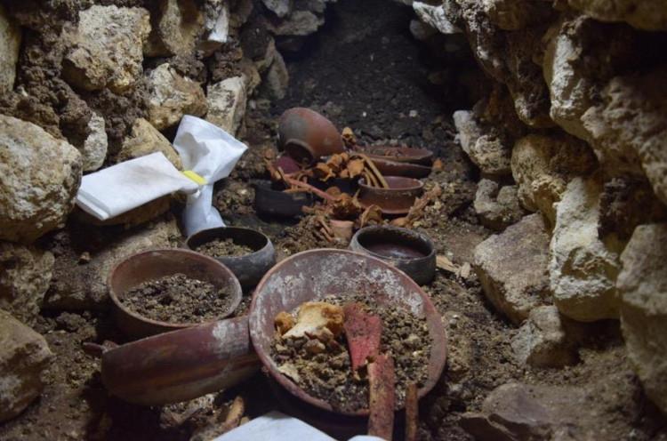 Ngôi mộ cổ của một nhà cai trị Maya cổ đại.