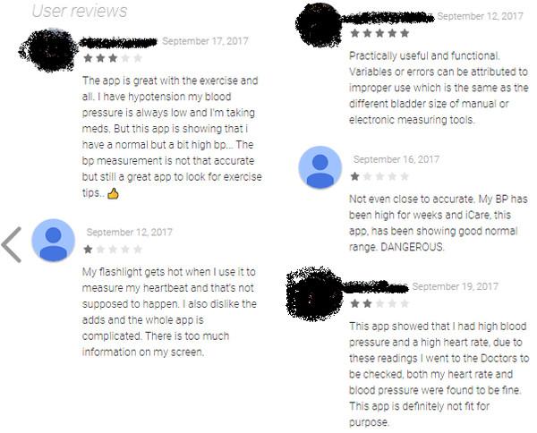 Không chỉ có ứng dụng bịp, đến cả review cũng bịp nốt.