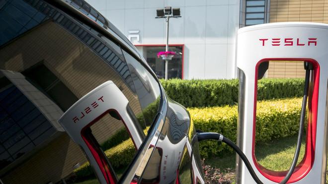 Mạng lưới sạc điện của Tesla.