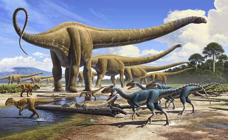 Khủng long từng là loài vật thống trị Trái Đất thời cổ đại.