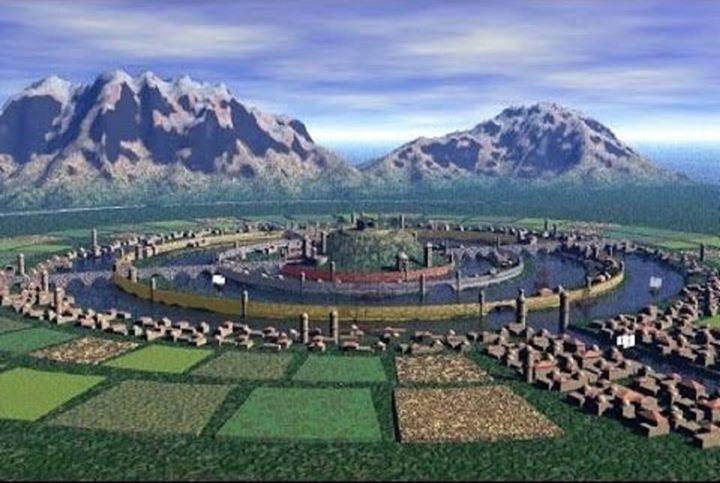Thành phố Atlantis qua mô tả của Plato