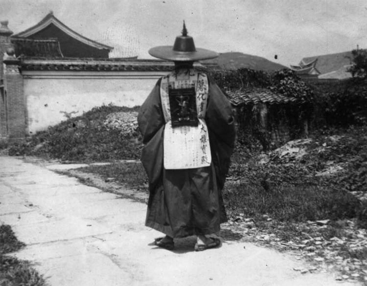 Đây là những bộ trang phục truyền thống tại Bình Nhưỡng, ảnh chụp năm 1910.