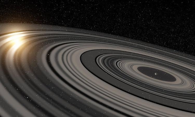 Vành đai sao Thổ.
