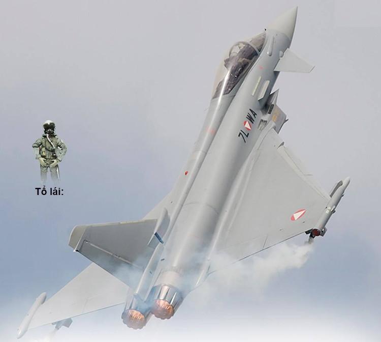 Máy bay tiêm kích EF-2000 Typhoon.