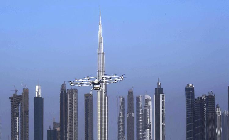Những chiếc taxi bay này luôn được theo dõi bởi thiết bị quan trắc không khí mới do DCAA thực hiện