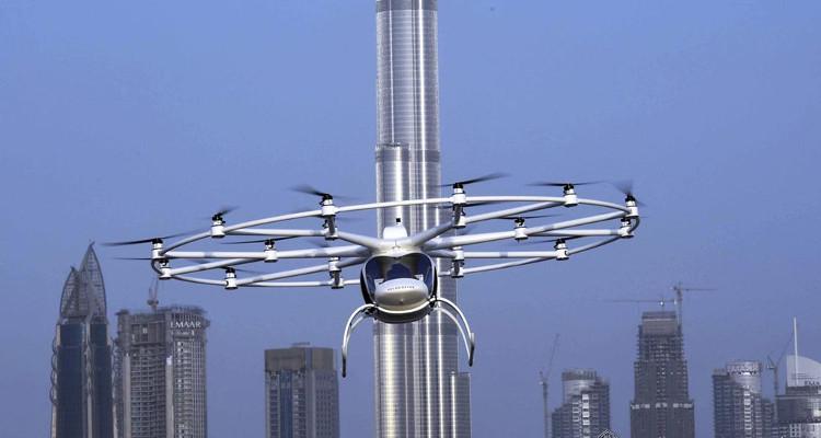 Volocopter, một hãng chuyên sản xuất máy bay tự động của Đức, đã hoàn thánh nó trong 7 tháng.