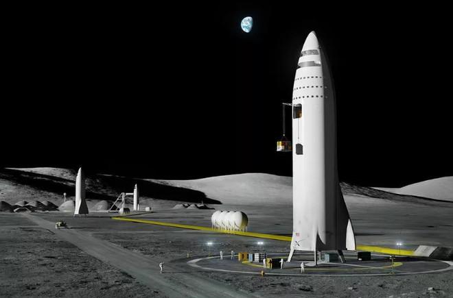 """Hình ảnh căn cứ """"Moon Base Alpha"""" trên Mặt Trăng"""