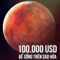 """Bài diễn thuyết """"điên rồ"""" của Elon Musk: 100.000 USD cho cái giá công dân sao Hỏa"""