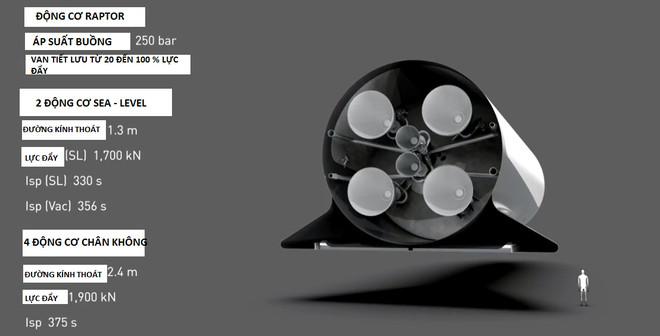 Cấu tạo phần đuôi BFR