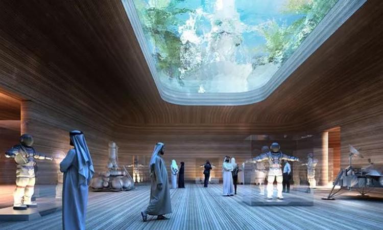 Bảo tàng sẽ tôn vinh những thành tựu vũ trụ vĩ đại nhất của nhân loại.