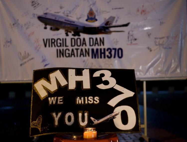 Thông điệp tưởng nhớ các nạn nhân MH370