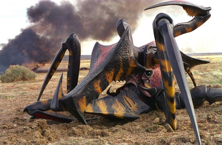 Loại bọ này được miêu tả trong phim như một chủng loài hiếu chiến, có khả năng thích nghi cao.