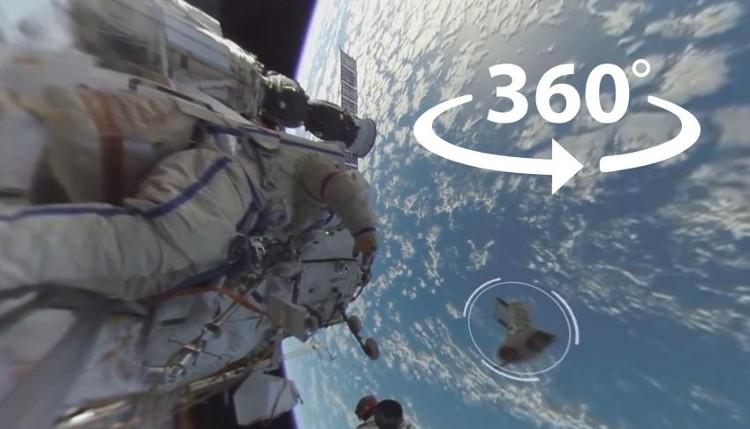 Đoạn video ghi lại những cảnh tượng tuyệt đẹp trong chuyến đi bộ ra ngoài không gian dài 7,5 giờ trong tháng 8.