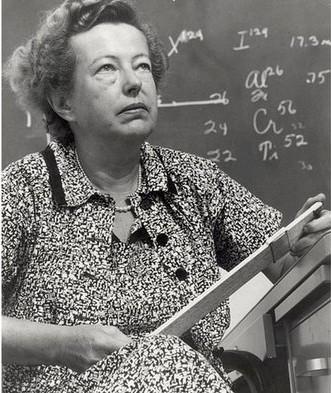 Bà Maria Goeppert-Mayer (Mỹ) đoạt Nobel vật lý năm 1963.