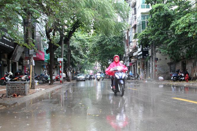 Miền Bắc kéo vào đến Hà Tĩnh sẽ có mưa mừa, mưa to từ nay đến 9/10.