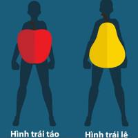 Lý do người có thân hình trái táo dễ giảm cân nhất
