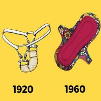 """Lạ lùng những cách đối phó với ngày """"đèn đỏ"""" của phụ nữ 100 năm trước"""