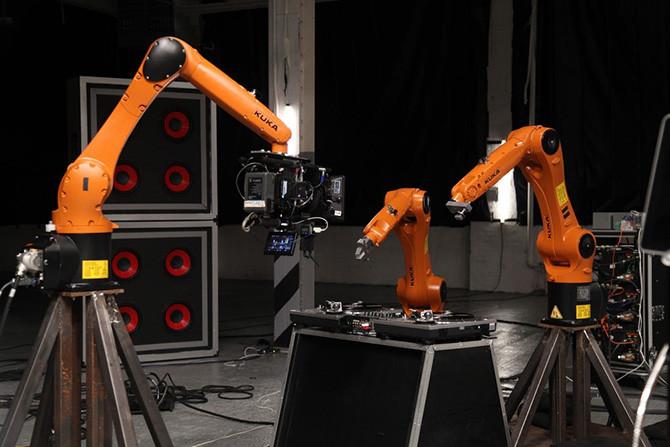 Những chú robot chơi nhạc của Stanford.