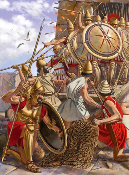 Chàng trai trẻ 19 tuổi năm đó đã dẹp loạn, tái thống nhất các thành bang Hy Lạp cổ đại