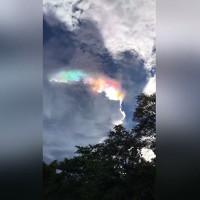 Video: Cầu vồng lửa rực rỡ thắp sáng bầu trời Thái Lan