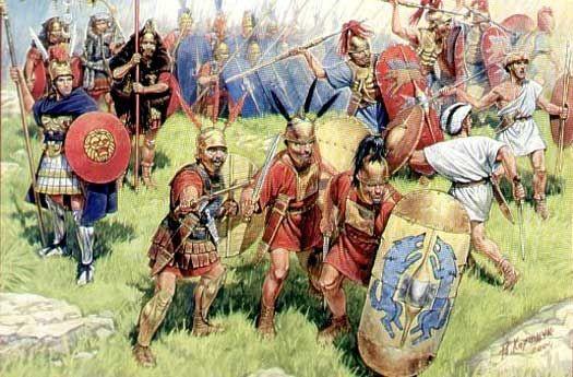 Một trong những trận chiến nổi tiếng nhất của ông là trận Pharsalus chống lại Pompey.